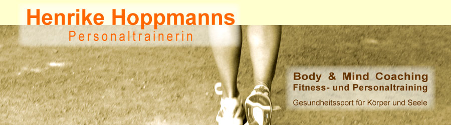 Header Henrike Hoppmanns Personaltrainer/-in